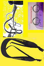 "NEOPRENE SHOULDER CAMERA STRAP ""For NIKON"" COOLPIX L100 L120 L110 L320+ 2 RINGS"