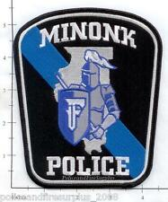 Illinois - Minonk IL Police Dept Patch