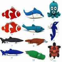 Cute Animal Cartoon USB Flash Drive Thumb USB Memory Stick U Disk Pen Drive GB