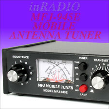 Mfj-945e Mobile Antenna Tuner HF 6m 300w XMTR Ant. Bypass Fast UPS Delivery