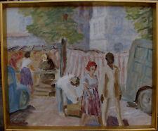 Sigurd Hagegard 1903-1992, Markttag, um 1960