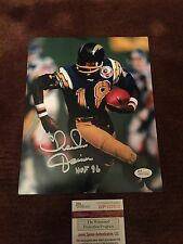 CHARLIE JOINER SIGNED AUTOGRAPHED 8 By 10 PHOTO SAN DIEGO CHARGERS FOOTBALL JSA