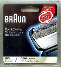 Braun 8000CP/51S Replacement Foil and Cutter Head