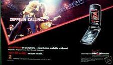 Led Zeppelin Rock Music Verizon Wireless Phone Print Ad