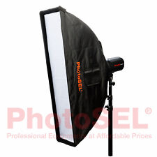 PhotoSEL SBSR2X9 22 x 90cm Strip Softbox Bowens S Type Speed Ring Studio Flash