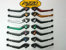 Pazzo Dual Pivot Folding levers for Suzuki GSXR 600 750 2011- 2016 GSXR 1000 09+