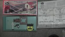 ho IDEAL MODELS CROSSING GATE USED PARTS REPAIR IN BOX