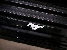 (2pcs) PONY doorstep badge decal RUNNING HORSE Mustang