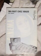 My Night at Maud Eric Rohmer Cinema December 1969 Trintignant Barrault Vitez
