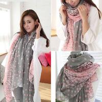 Hot New Fashion women long Yarn scarf wrap ladies shawl girls large silk scarves