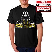DARTH VADER THE DARK SIDE T-SHIRT Empire Star Wars Shirt Tshirt T Boba Rebels