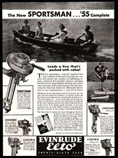 1935 EVINRUDE Elto Sportsman Boat Outboard Motor AD w/Fisherman and Lightwin