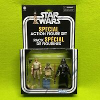 Star Wars Cave of Evil Special Action Figure Set Yoda Luke Vader Vintage Edition