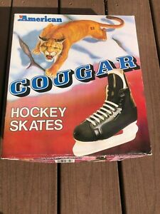 American Cougar Boys Hockey Skates Size 12 New with Box