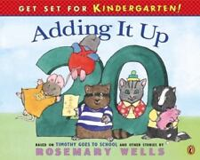 Get Set for Kindergarten: Adding It Up by Rosemary Wells c2001, Paperback, NEW