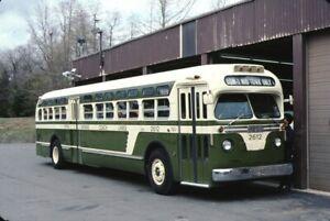 Fifth Avenue Coach Lines GM Old Look bus Kodachrome original Kodak slide