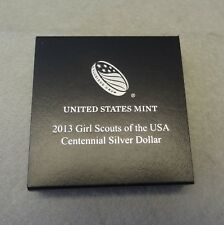 2013 GIRL SCOUTS  UNCIRCULATED COMMEMORATIVE SILVER DOLLAR