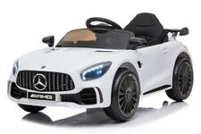 12V Mercedes GTR Blanc sous licence Voiture Electrique Pour Enfants