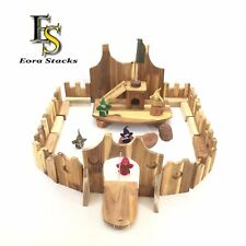 Wooden Castle Imaginative Creative Natural Sustainable Toys