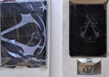 NEW ASSASSIN'S CREED III 3 LIMITED COLONIAL FLAG JOURNAL GAME PS3 BELT BUCKLE