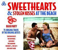 3 CD BOX SWEETHEARTS & STOLEN KISSES AT THE BEACH VENTURES BEACH BOYS SHADOWS
