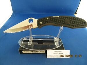 Vintage 90's Spyderco Endura Clip it clip-it C10SBK Knife