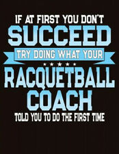 If At First You Don't Succeed Try Doing What Your Racquetball Coach Told You