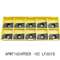 Low price  10pc APMT1604PDER-H2 APKT1604 Milling carbide inserts for BAP400R