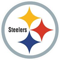 Pittsburgh Steelers Decal ~ Car / Truck Vinyl Sticker - Wall Graphics, Cornholes