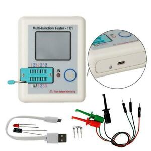Hot Multifunction Transistor Tester Diodes LCR - TC1 Full Display Graphics Y4M0