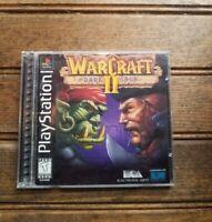 Warcraft Ii The Dark Saga Ntsc J Ps1 Japan Sealed Rare Ebay