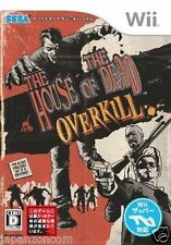Used Wii House of the Dead: Overkill Nintendo JAPAN JP JAPANESE JAPONAIS IMPORT