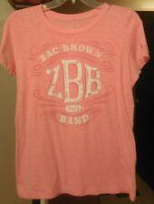 Zac Brown Band great American Road Trip 2014 tour women's medium T shirt country
