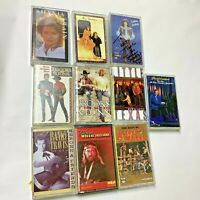 Country Cassette Lot of 10 Willie Brooks Dunn Shania Judds Asleep At Wheel