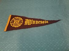 "Vintage University Of Minnesota 1960s 30"" College Pennant - 1ST CLASS SHIPPING"