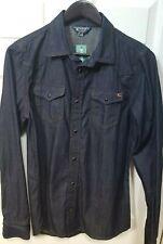 DIESEL Denim Shirt Sz M MSRP $185 Blow Out Sale!