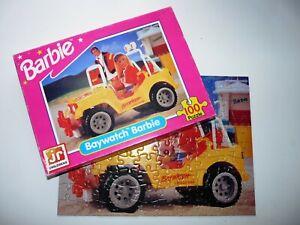 VINTAGE 1995 BARBIE BAYWATCH PUZZLE - 100 PIECE PUZZLE