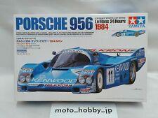 TAMIYA 1/24 Porsche 956 Le Mans 1984 Kenwood Color Model Kit 24314 from Japan 1
