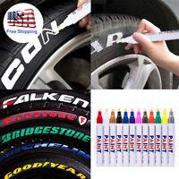 Universal Waterproof Permanent Paint Marker Pen Car Tyre Tire Tread Metal Rubber