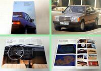 Mercedes Benz 190D 190D2.5 Kompaktklasse Prospekt 1986