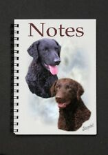 Curly Coated Retriever Notebook/Notepad + small image on every page by Starprint