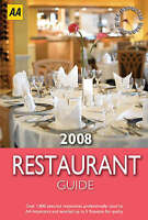 AA Restaurant Guide 2008 (AA Lifestyle Guides), AA Publishing, New Book