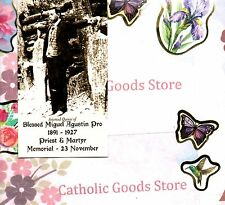 "Blessed Miguel Augtin Pro (2"" x 3 1/2"") Heavy Paperstock Holy Card"