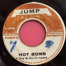 "I Roy & The Jumpers - Hot Bomb 7"" reggae 45 jump 1972 red rum ball brooklyn nyc"