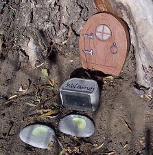 Solar Elf or Gnome Tree Door 4 Piece Set