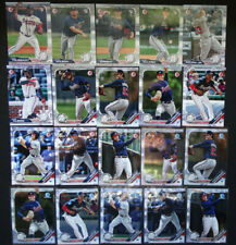 2019 Bowman Paper & Chrome Atlanta Braves Team Set 20 Baseball Cards