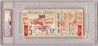 1970 World Series game 5 Ticket PSA