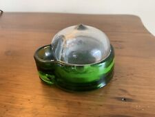 Antique Jacobus Green Glass General Eclipse Co Inkwell