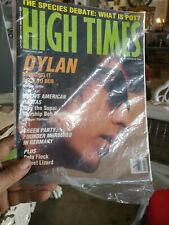 Bob Dylan Amazing Nm/Mint Feb 1993 High Times Magazine W/Great Dylan Cover!