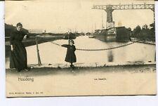 CPA - Carte Postale - Belgique - Houdeng - Le Bassin - 1904 (BR14621)